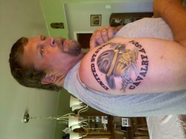 cavalry scout tattoo