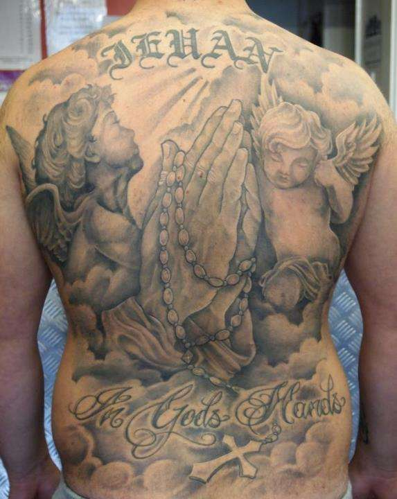 my back piece tattoo
