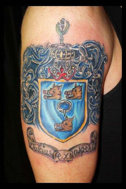Ferguson Family Crest tattoo