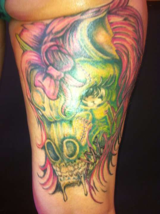 Zombie Little Girl Tattoo Zombie my little pony ...