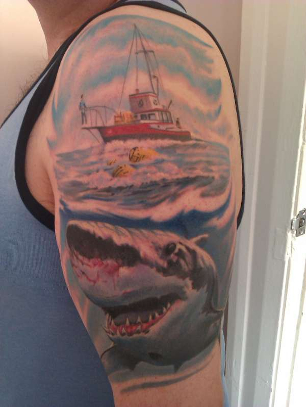 JAWS tattoo