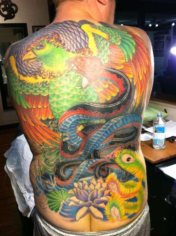Phoenix Rising tattoo