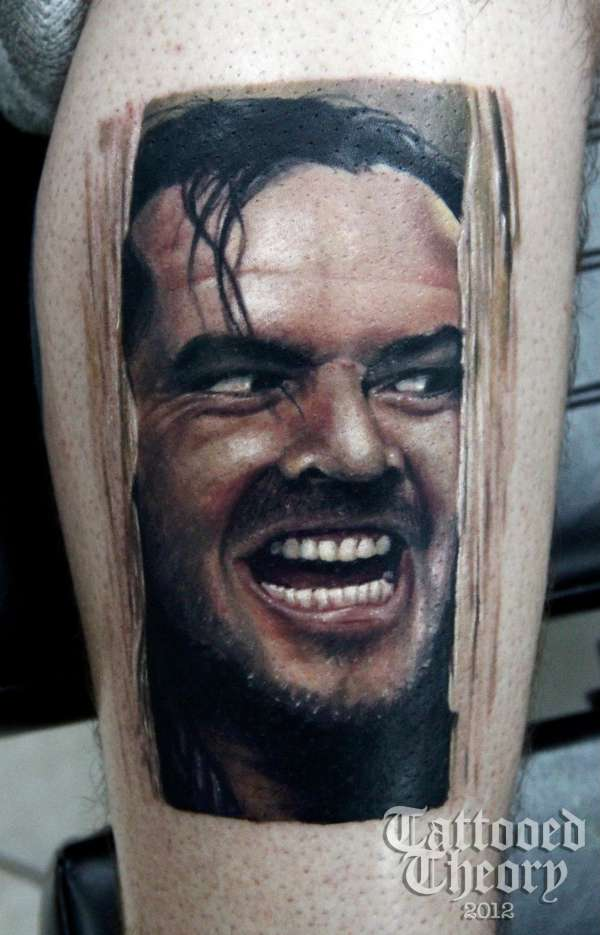 Here S What Kylie Jenner Lipstick Looks Like On: Here's Johnny (jack Nicholson) Tattoo