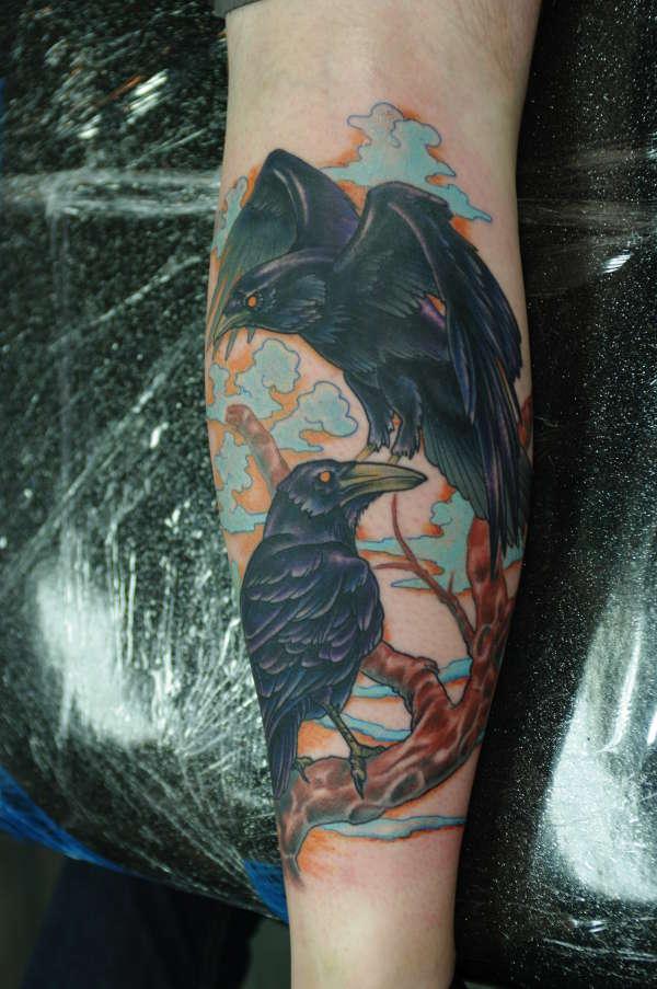 Ravens tattoo