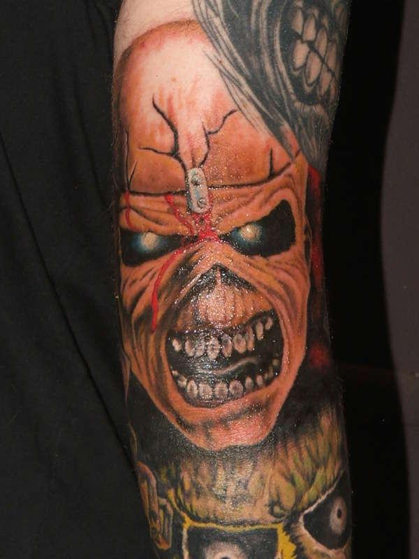 Iron Maiden Tattoo Gallery Wwwwalhallawarriorsstore