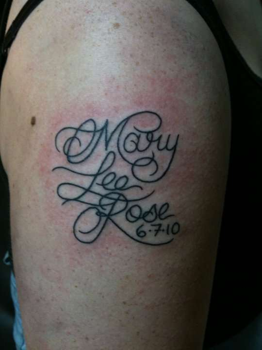 Mary Lee tattoo