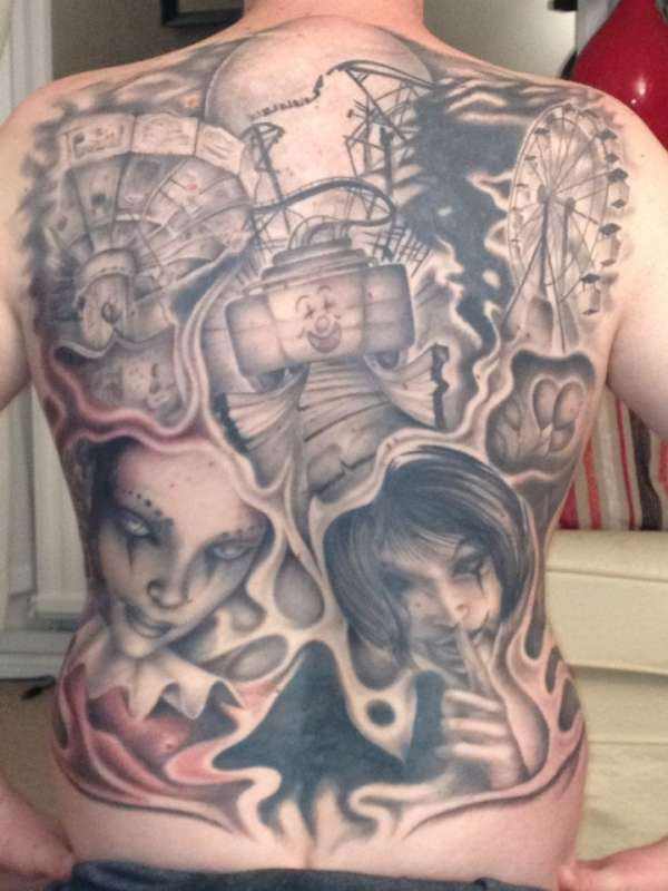 fairground tattoo