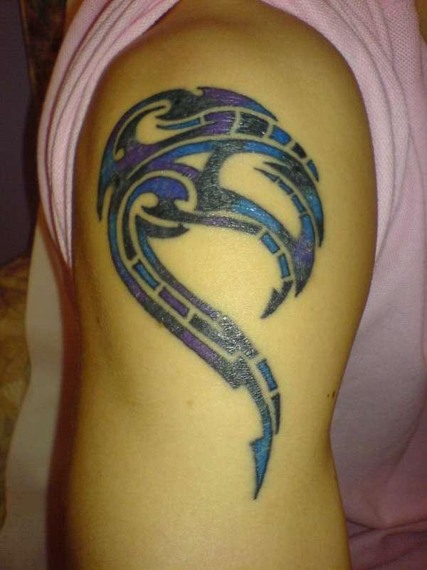 multi-color tattoo