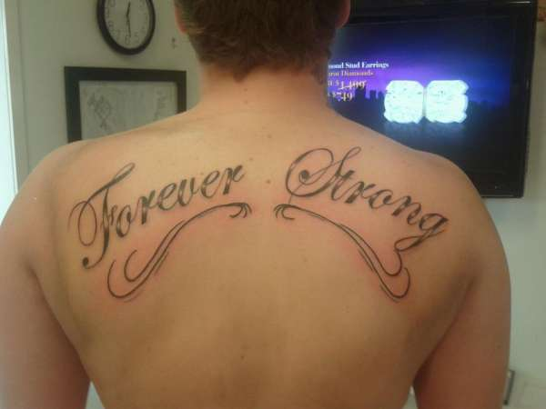 Forever Strong tattoo