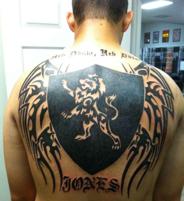 Tribal Family Crest tattoo