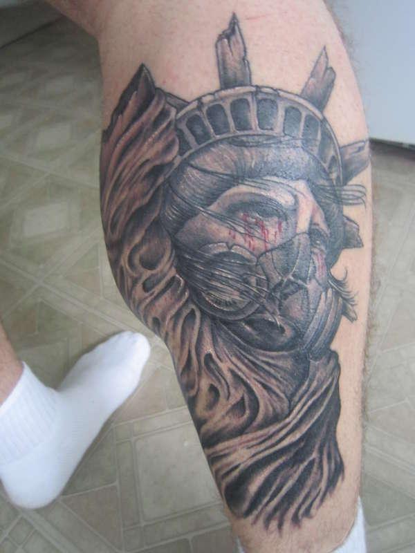 lost liberty healed tattoo