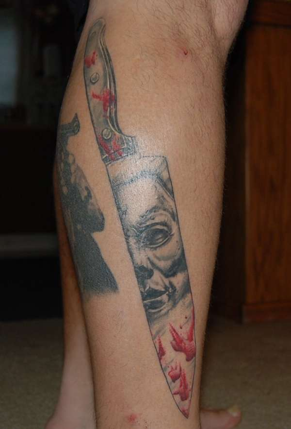 michael meyers tattoo