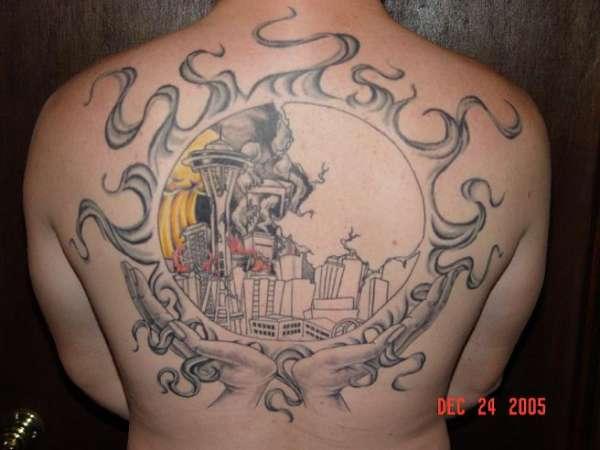 Back Piece. pt. 3 tattoo