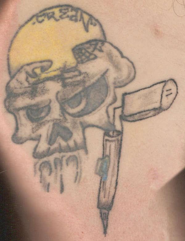 tattoo gun machine ghost tattoo