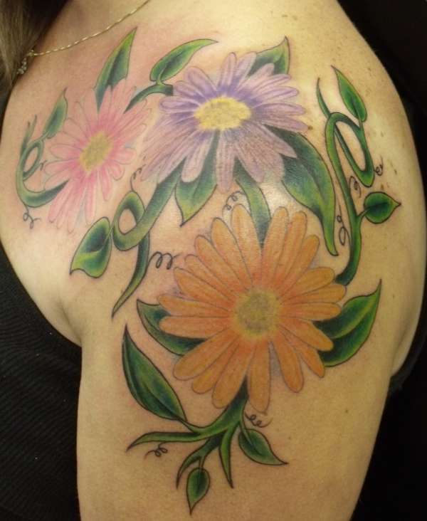 Gerber Daisies tattoo