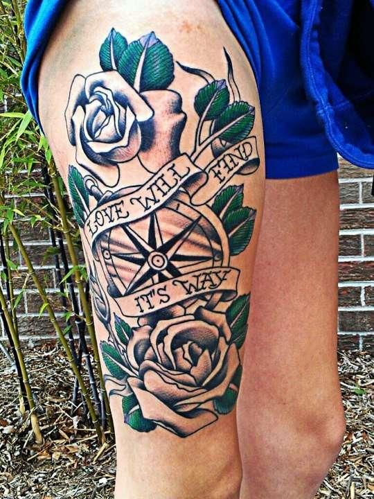 love will find its way tattoo