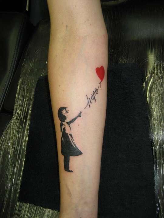 My Banksy tattoo tattoo