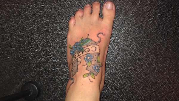 Colts tattoo