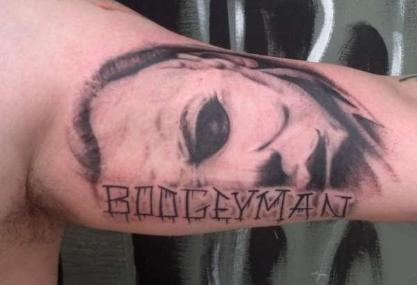 Michael myers the boogeyman tattoo for Michael myers tattoo