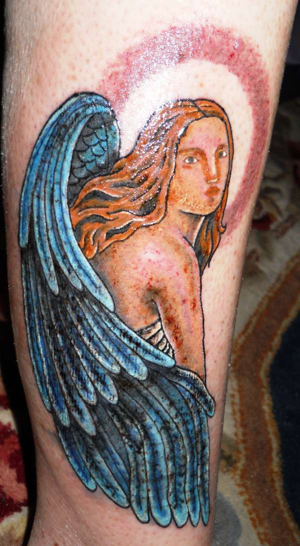 Angel Cover up tattoo