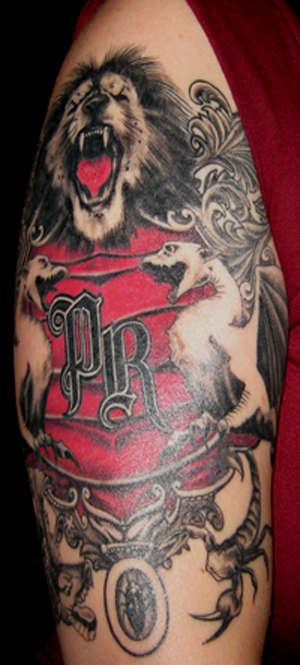 papa roach tattoo