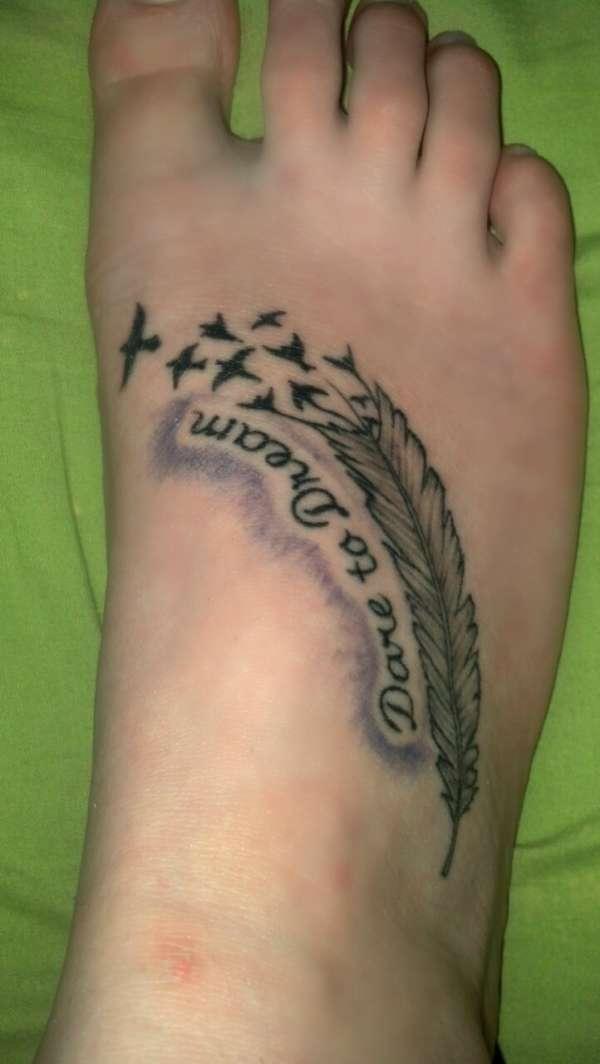 Dare to dream tattoo