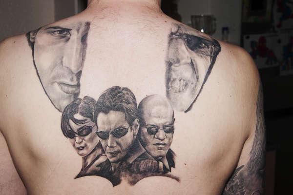 Ongoing Matrix Piece Tattoo