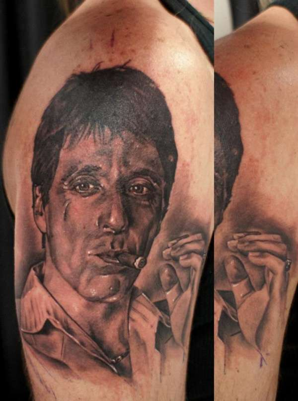 SCARFACE - AL PACINO tattoo