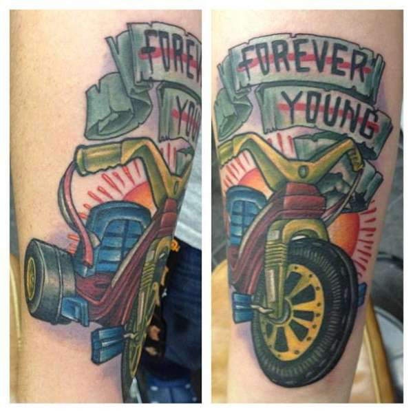 forever young tattoo tattoo