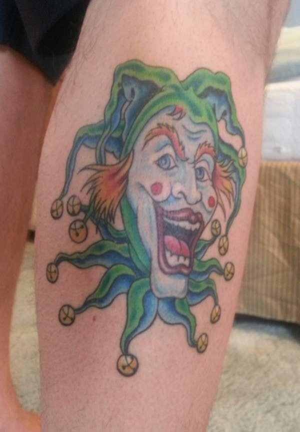 My jester tattoo for Wildside tattoo cedar rapids