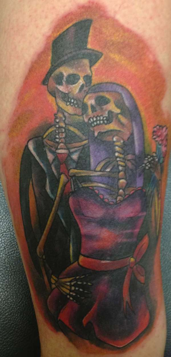 Till death do us part tattoo for Until death do us part tattoo