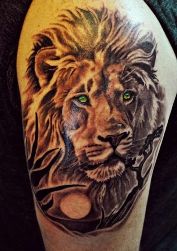 Lion Of Judah Tattoo