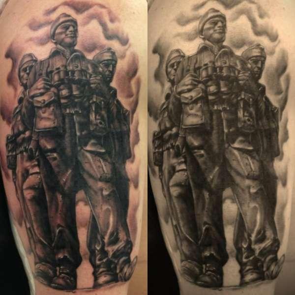 28 royal marines commando tattoo designs 27 militaristic marine tattoos creativefan. Black Bedroom Furniture Sets. Home Design Ideas