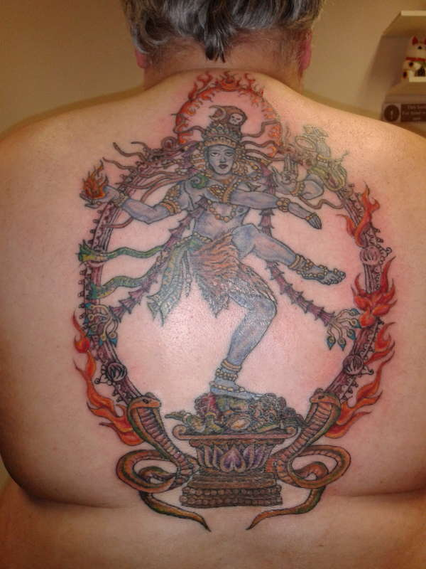Shiva as Lord Nataraja tattoo