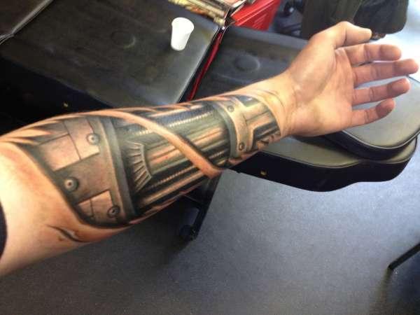 Terminator arm tattoo  Terminator arm ...