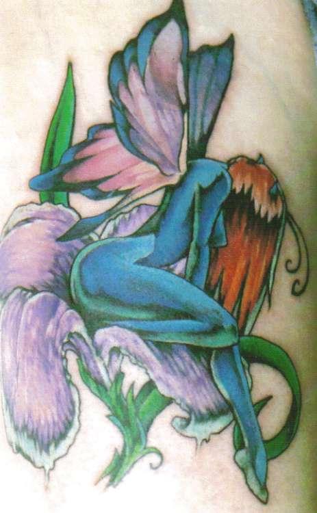 freehand w tattoo