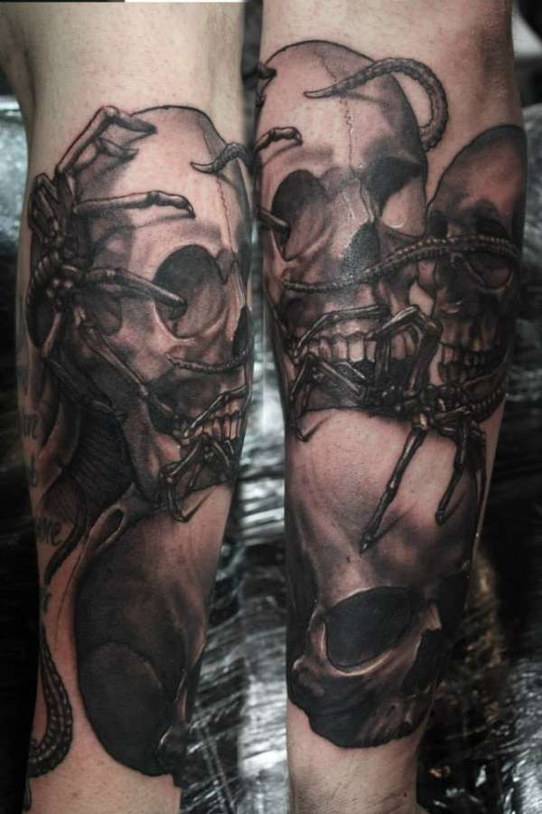See no evil, Speak No evil, Hear No evil tattoo
