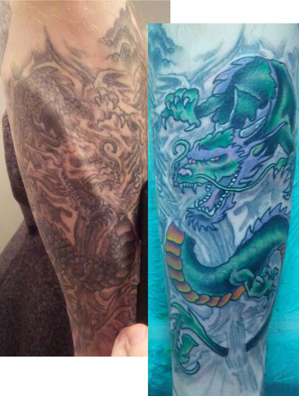 Dragon fixed. tattoo