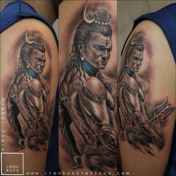 har har mahadev tattoo