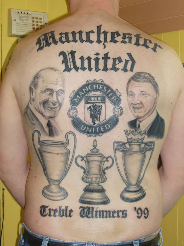 mufc backpiece tattoo. Black Bedroom Furniture Sets. Home Design Ideas