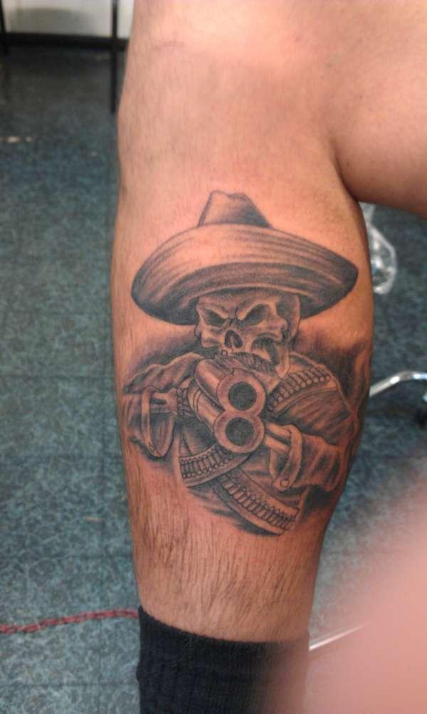 SKULL CHARRO tattoo