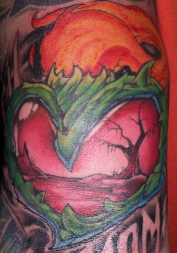 free hand heart kelly gormley tattoo
