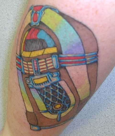 Wurlitzer tattoo