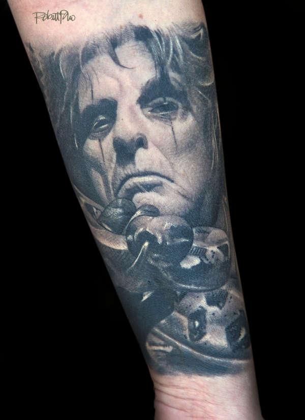 Alice Cooper tattoo