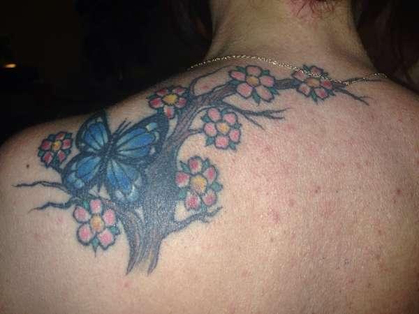 Butterfly/ tattoo