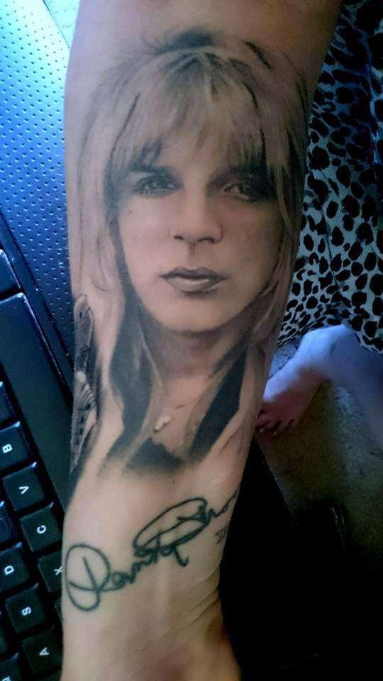Randy Rhoads tattoo