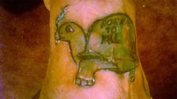 Helmet Turtle tattoo