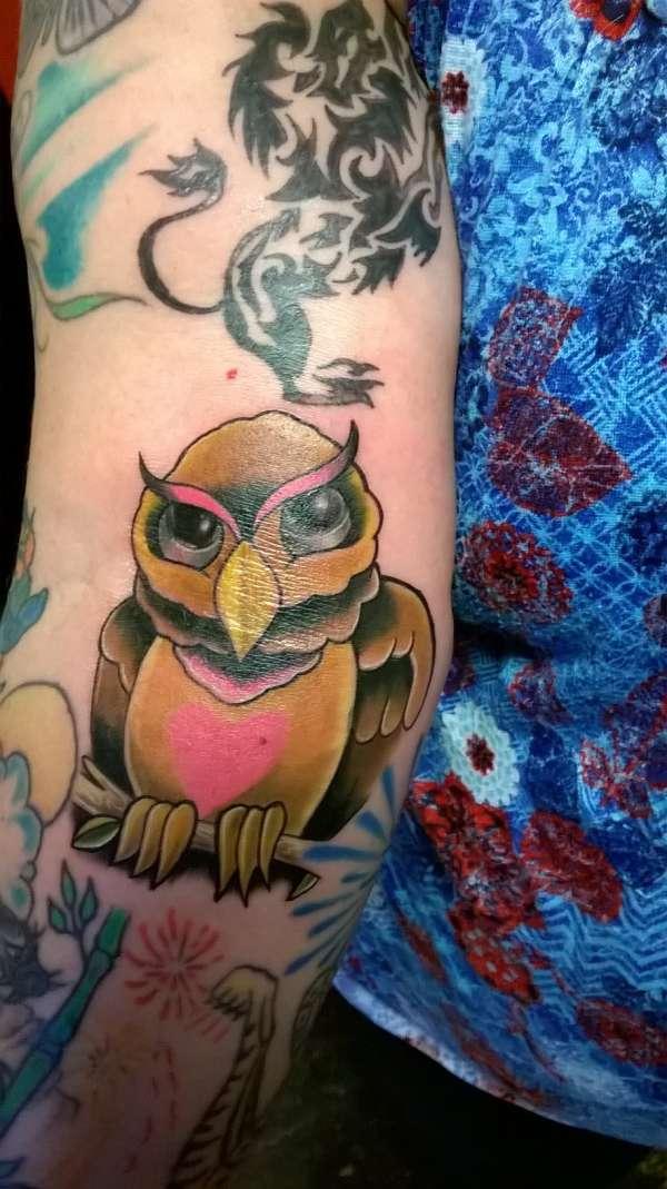 Owl Tattoo Gift tattoo