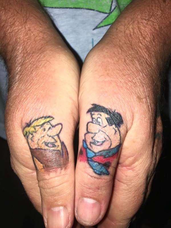 flintstones tattoos tattoo