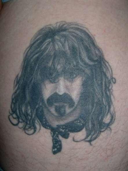 Frank Zappa tattoo